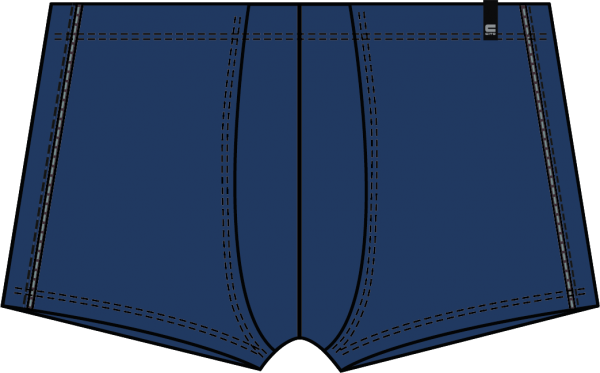 Herren Pants 66040 353 marine