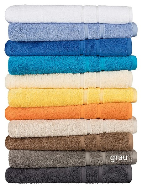 Duschtuch LIN Größe:70x140cm Farbe: grau