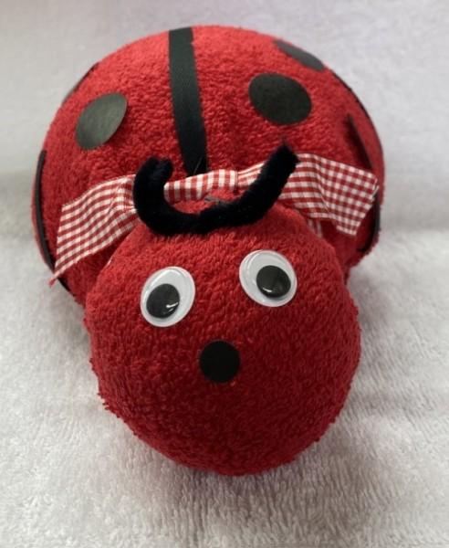 Geschenk Marienkäfer rot