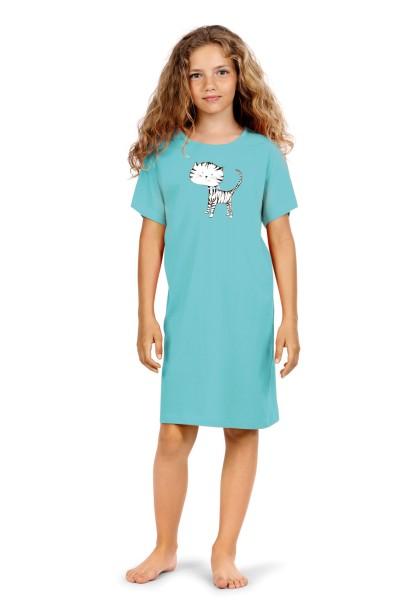 Kinder Nachthemd 201503/43 türkis