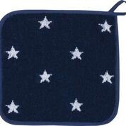 Küchentücher mit Motiv: Sterne blau