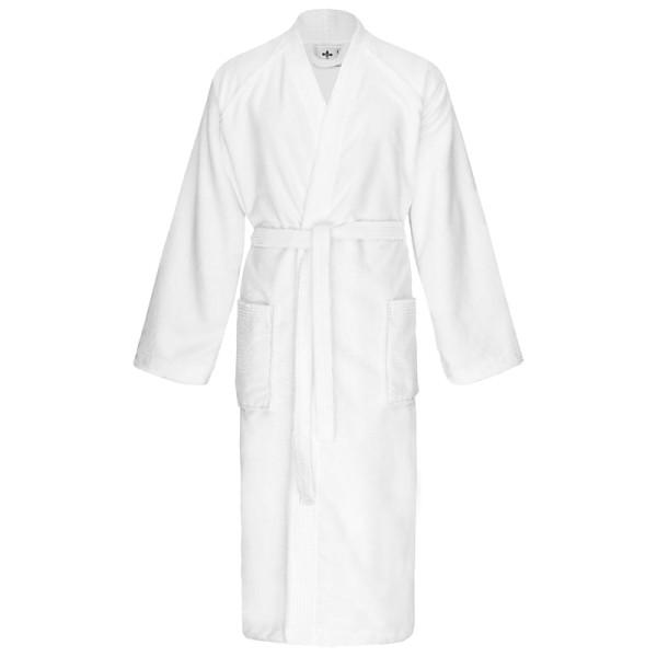 Bademantel Kimono weiß 590
