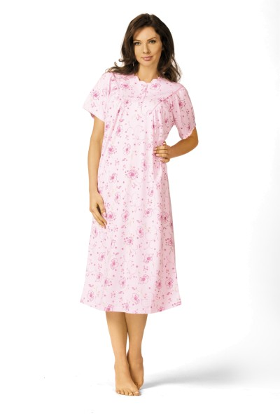 Damen Nachthemd 41225 rosa .56/58