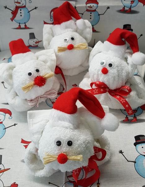 Frottier Geschenk Weihnachtsmaus