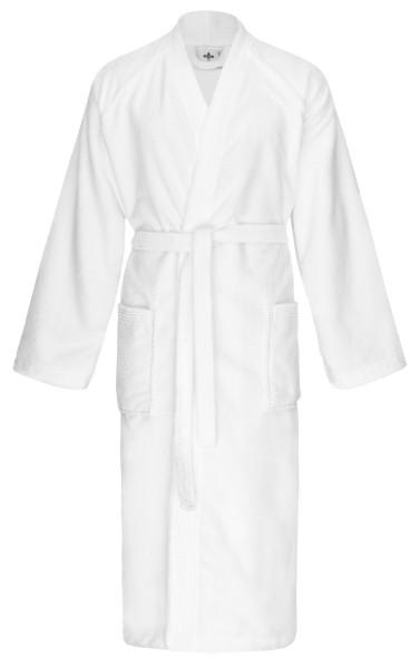 Bademantel 571 Kimono weiß Gr. XL