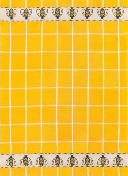Geschirrtuch Jacquard Motiv: Bienen