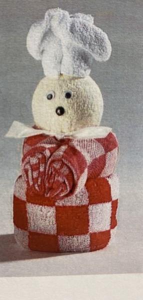 Geschenk Koch in rot