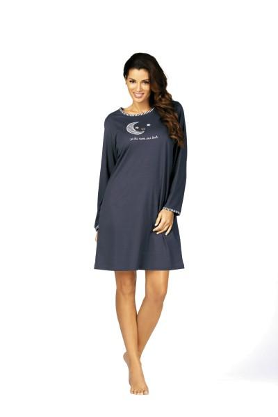 Damen Nachthemd 62205 grau