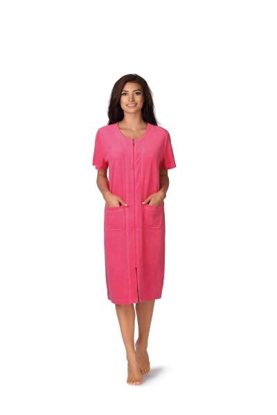 Strandkleid Frottee 191207 in der Farbe pink