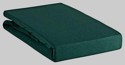 Spannbettlaken Green 100x220cm moos