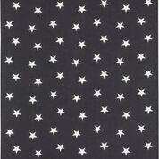Geschirrtuch Baumwolle Motiv: Sterne schiefer